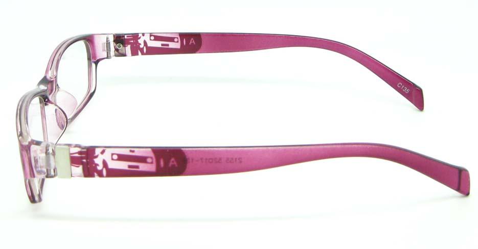 red tr90 rectangular glasses frame JNY-ASD2155-C135