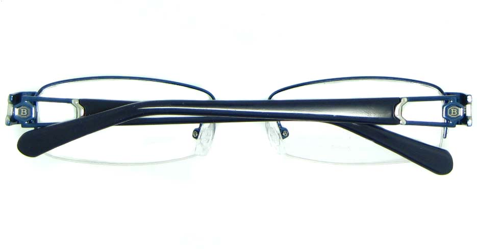 grey with blue blend Rectangular glasses frame JNY-BSM2118-L