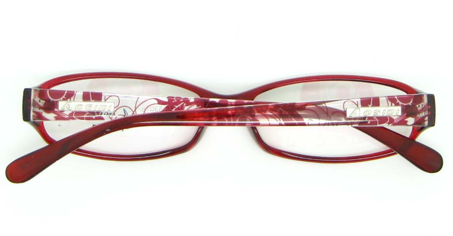 red tr90 Rectangular glasses frame JNY-ASD2158-C26