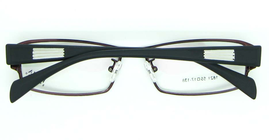 tea with black oval blend glasses frame JNY-KM1821-C10