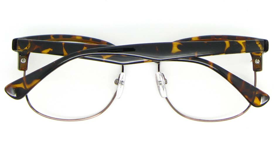 retro blend Tortoise glasses frame   WLH-QS010-C3