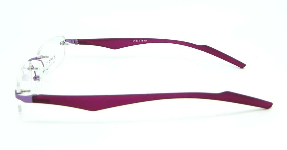 Purple blend rectangular glasses frame  JNY-JIONG1197-Z