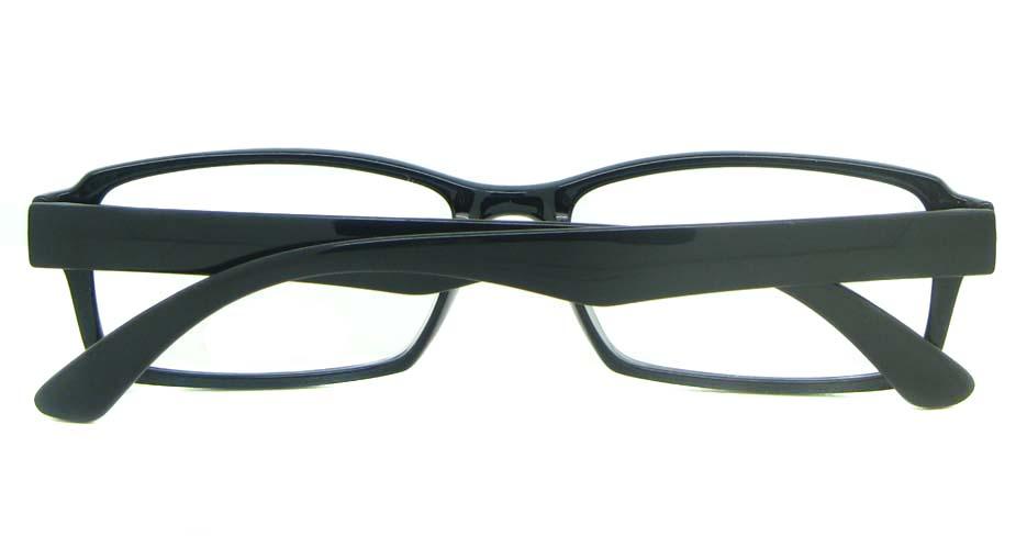 black Rectangular tr90 glasses frame YL-KLD8014-C1