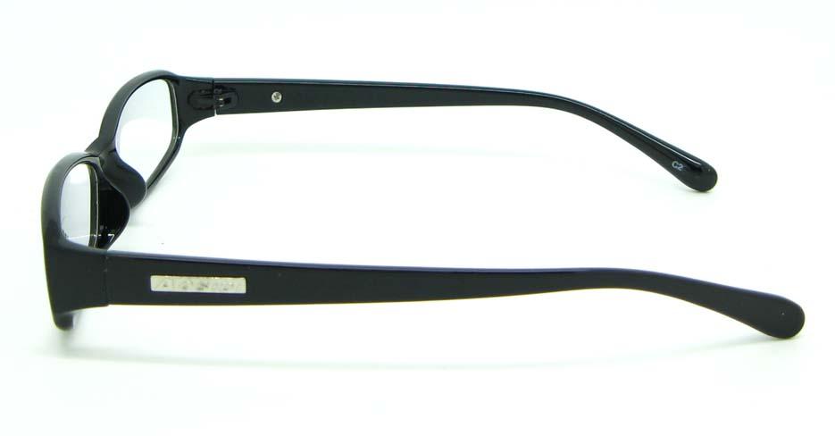 black tr90 Rectangular glasses frame JNY-ASD2158-C2