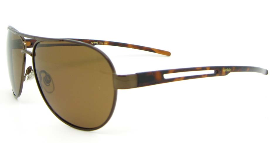 Aviator  fashion Tortoise Metal   sunglasses  XL019