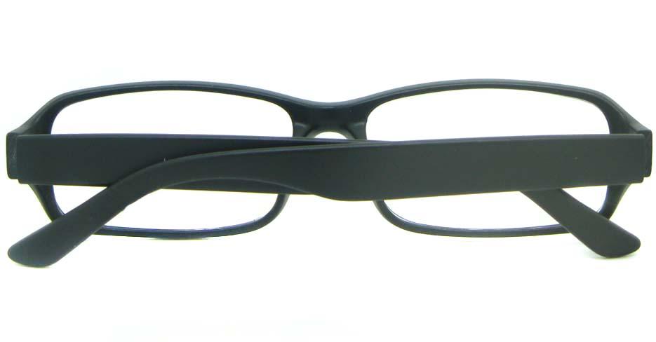 black tr90 rectangular glasses frame YL-KDL8048-C2