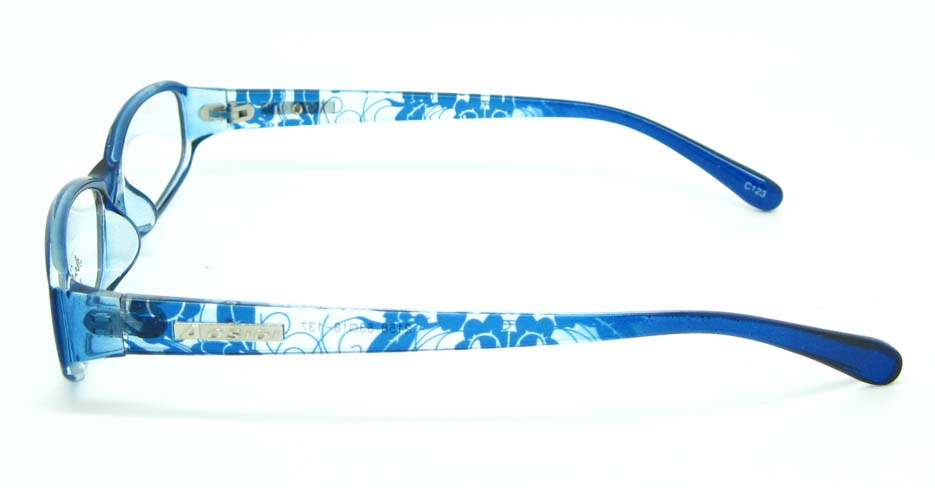 blue tr90 Rectangular glasses frame JNY-ASD2158-C23