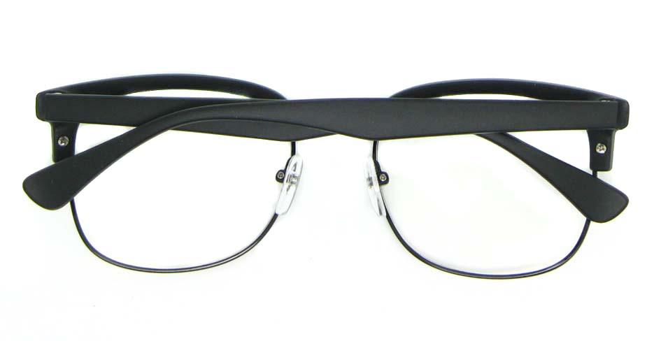 retro blend black  glasses frame   WLH-QS010-C2