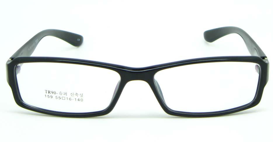 black tr90 Rectangular glasses frame JNY-MJN159-C9