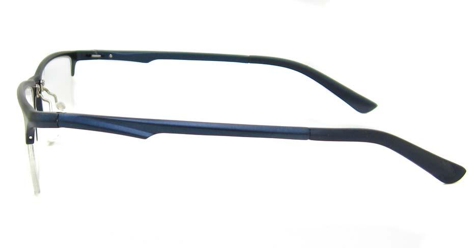 Al Mg alloy Blue Rectangular glasses frame LVDN-GX146-C07