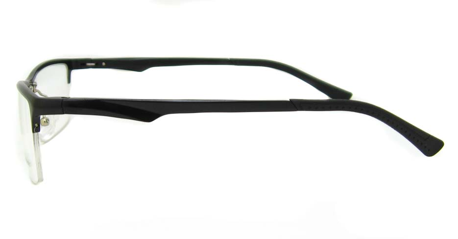 Al Mg alloy black Rectangular glasses frame LVDN-GX142-C01