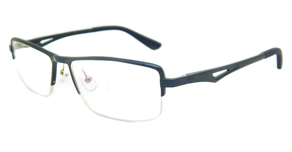 Al Mg alloy blue  Rectangular glasses frame LVDN-GX147-C07