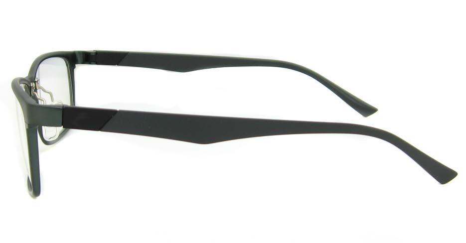 Al Mg alloy grey Rectangular glasses frame LVDN-GX104-C02