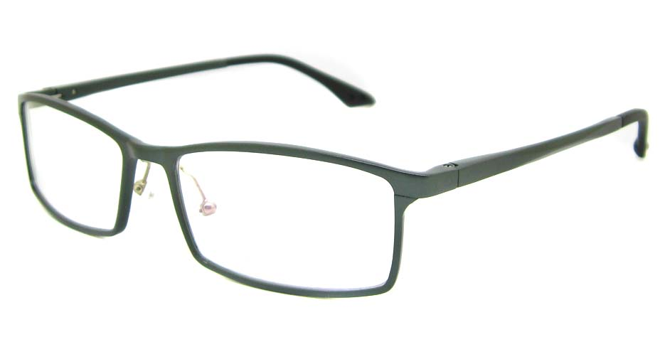 Al Mg alloy grey rectangular glasses frame LVDN-GX209-C02