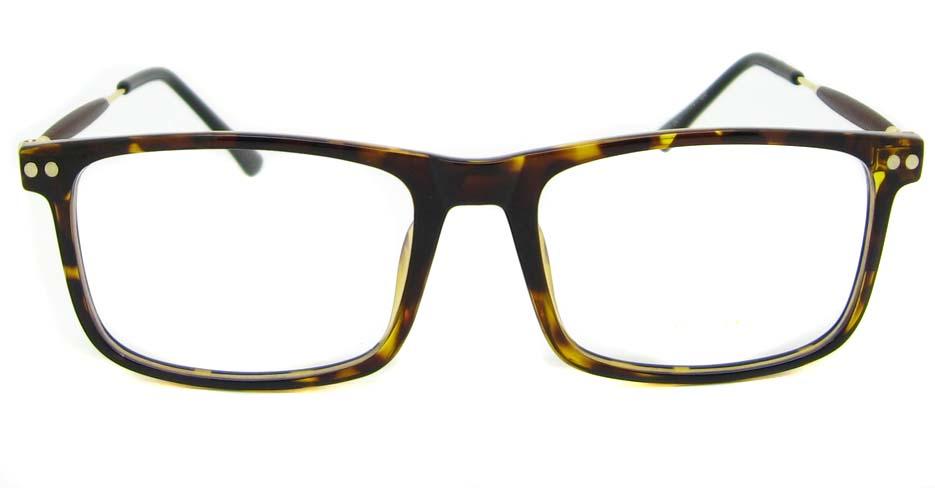 blend tortoise oval glasses frame LVDN-MM7005-C6