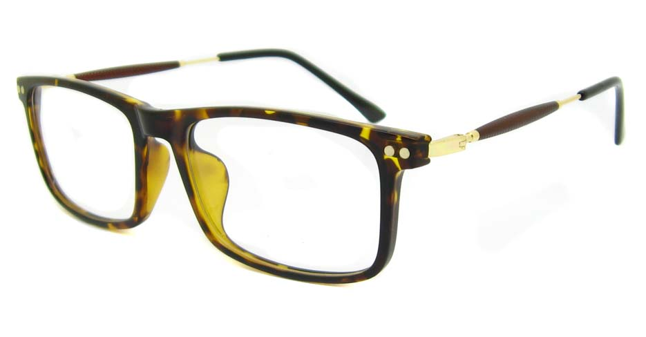 blend tortoise oval glasses frame LVDN-MM7005-C6