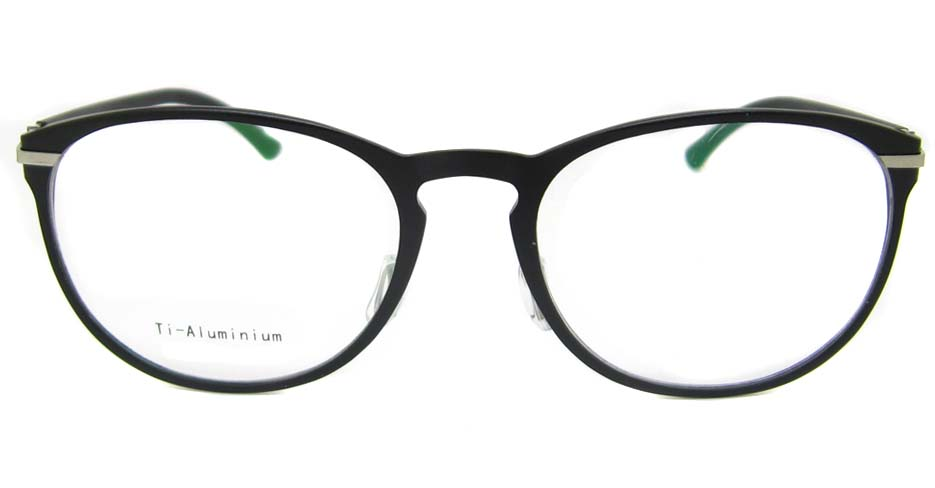 Al Ti  black  Oval glasses frame SM-GX204-C01