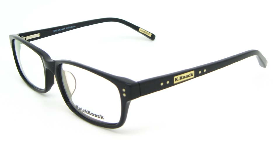 Black Acetate Rectangular glasses frame WKY-K1015-HS