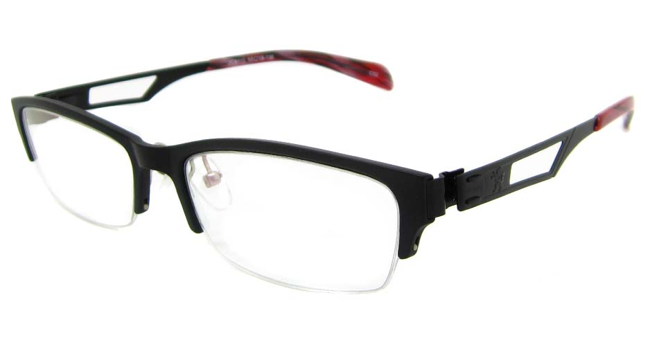 Black Blend oval Glasses  TD-JC8115-C2