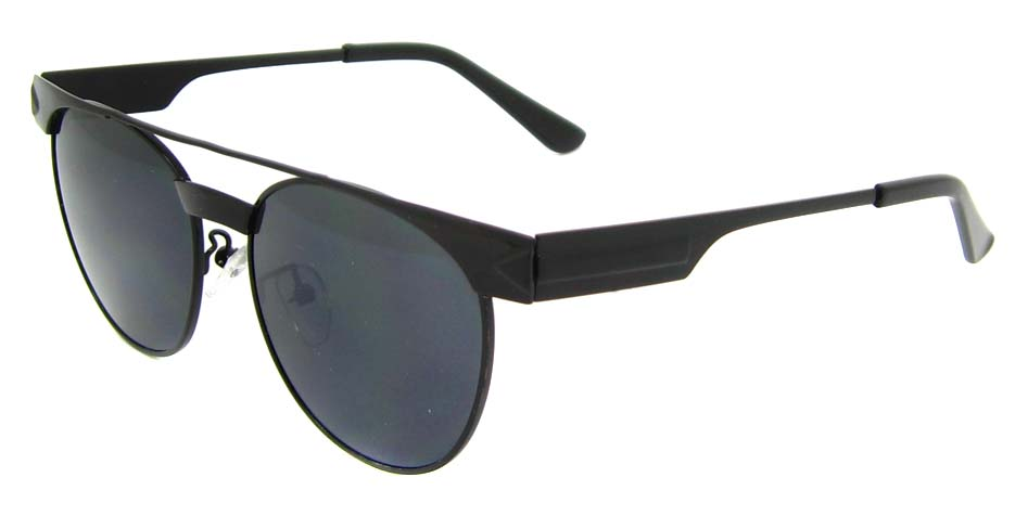 Black Metal oval retro frame YM-S300-C3