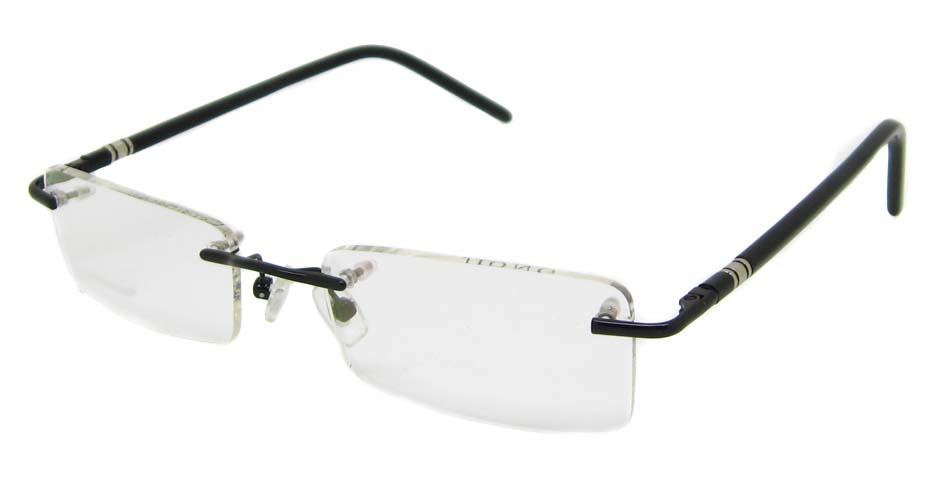 Black Rimless Glasses