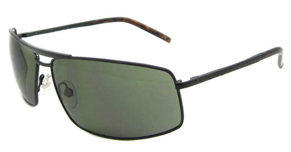 Black Oval metal glasses frame XL-HP585010-HS