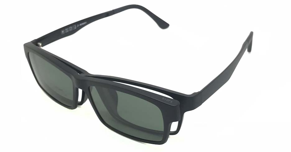 Black TR90  Polarized Magentic sunglasses FMH-TJ018-C3