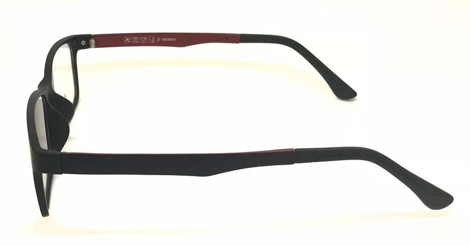 Black TR90 Polarized Magentic sunglasses FMH-TJ007-C2