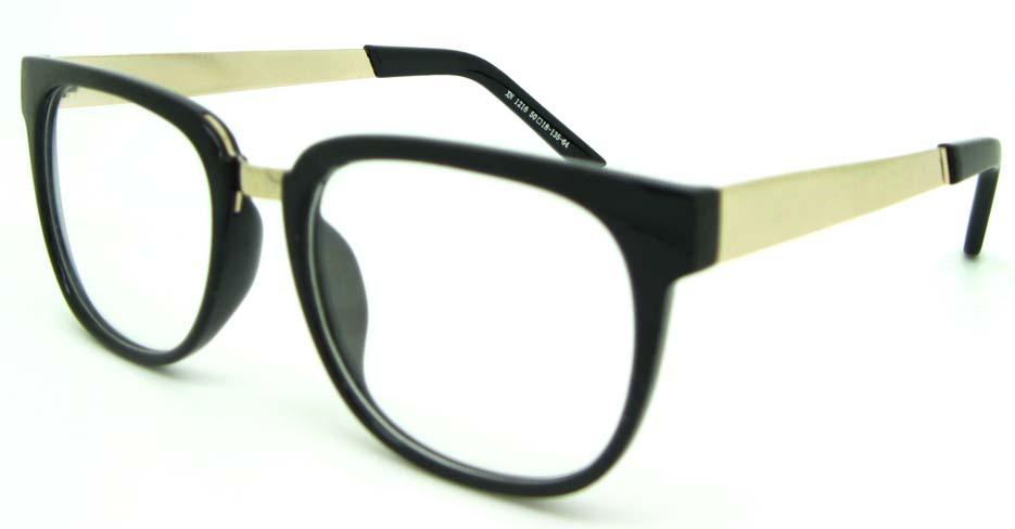 Black blend oval glasses frame  WLH-XN1216-HS