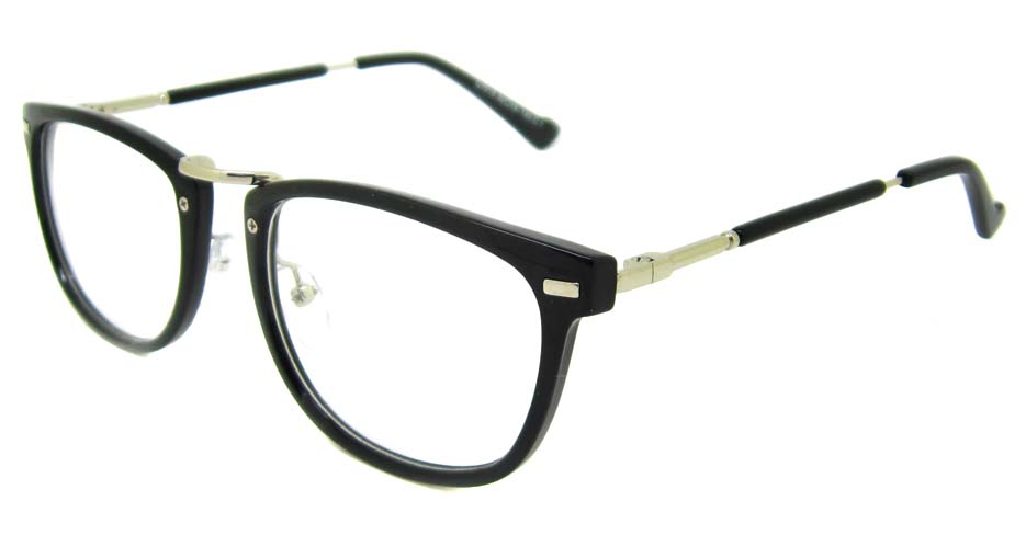 Black blend oval retro frame YM-G7018-C1
