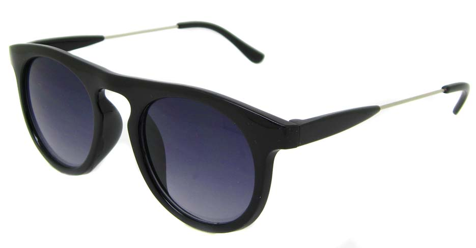Black blend oval retro glasses  LF-FG006-HS