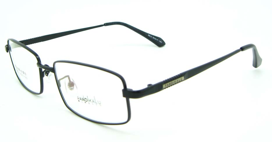 Black metal Rectangular glasses frame JNY-FKL9822-HS