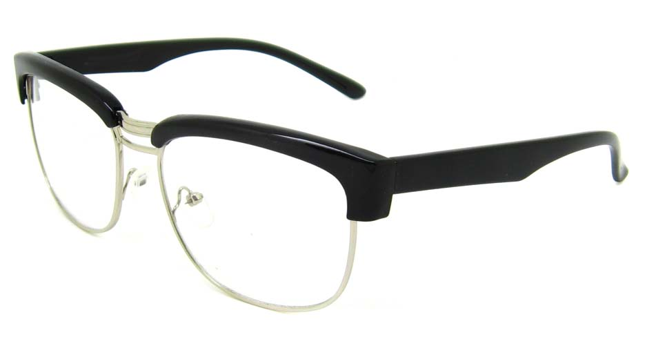 Black retro blend oval frame YM-XN3263-C1
