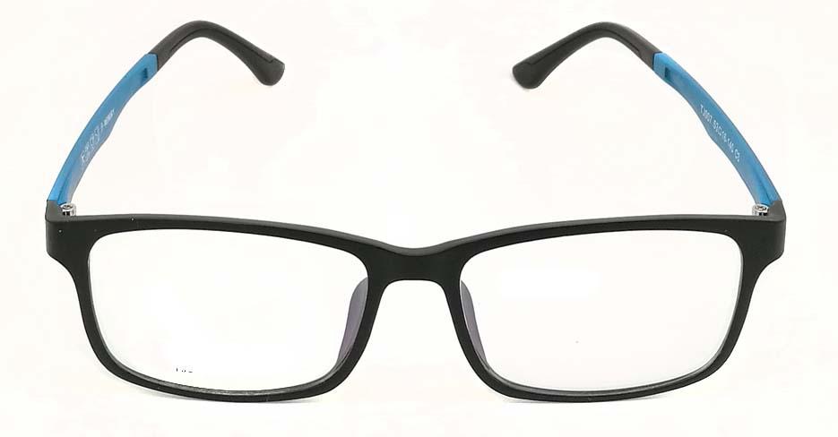 Black with blue TR90  polarized magnetic glasses frame FMH-TJ007-C3