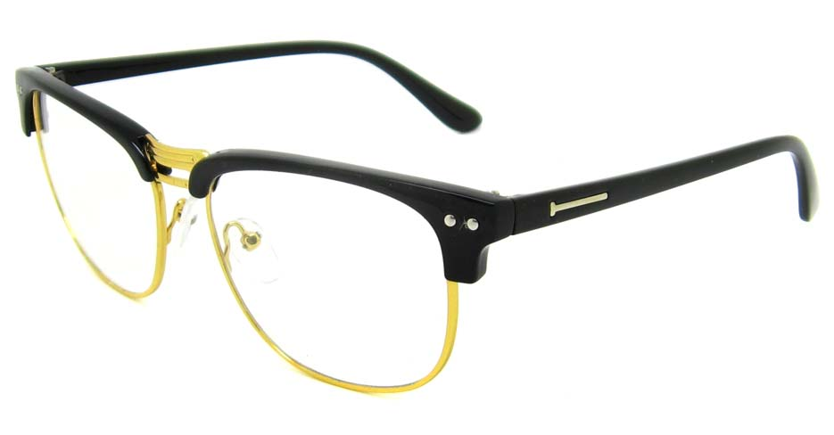 vintage black browline glasses