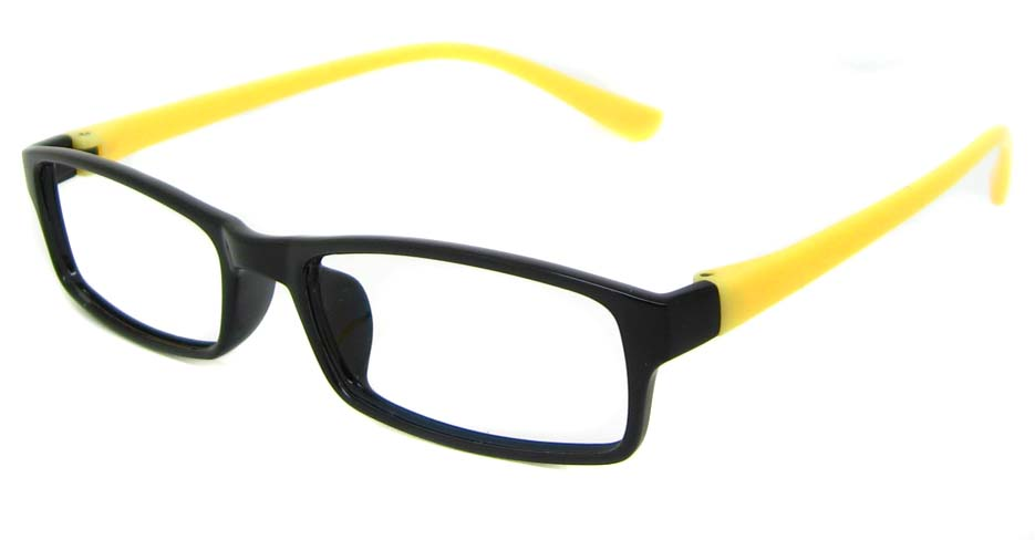 Black with yellow TR90 rectangular frame YJ-HN101-HT