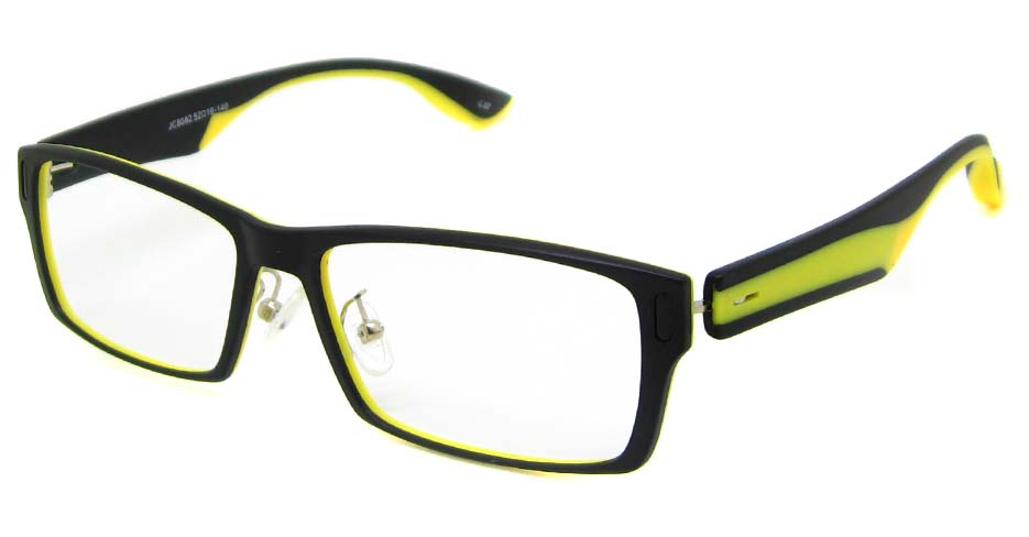 Black with yellow plastic rectangular  TD-JC8082-C2