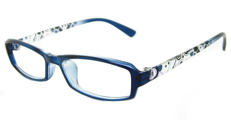 Blue TR90 rectangular frame YJ-F26893-L