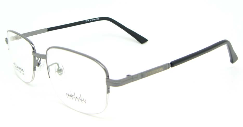 Gun Rectangular metal glasses frame WKY-FKL9818-Q