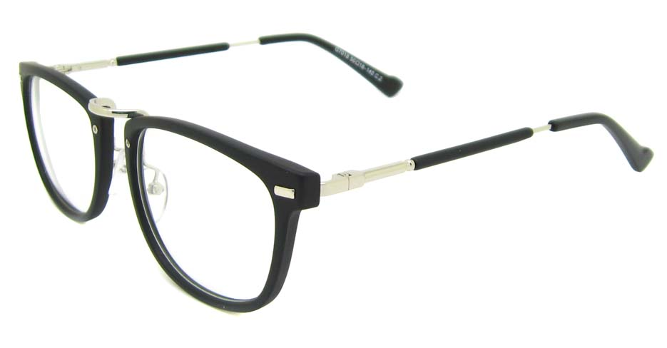Matte Black  blend oval retro frame YM-G7018-c2