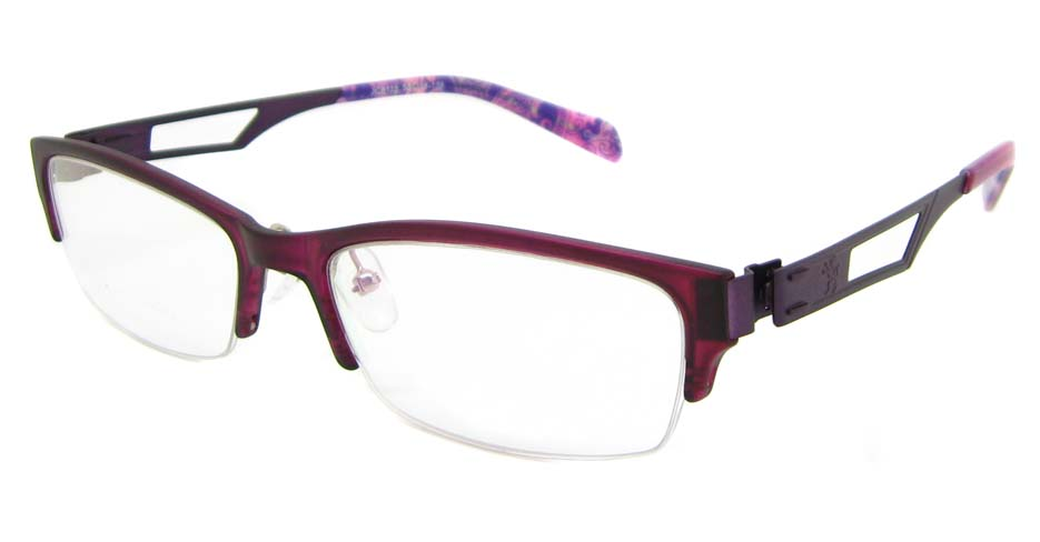 Purple Blend oval Glasses  TD-JC8115-C8