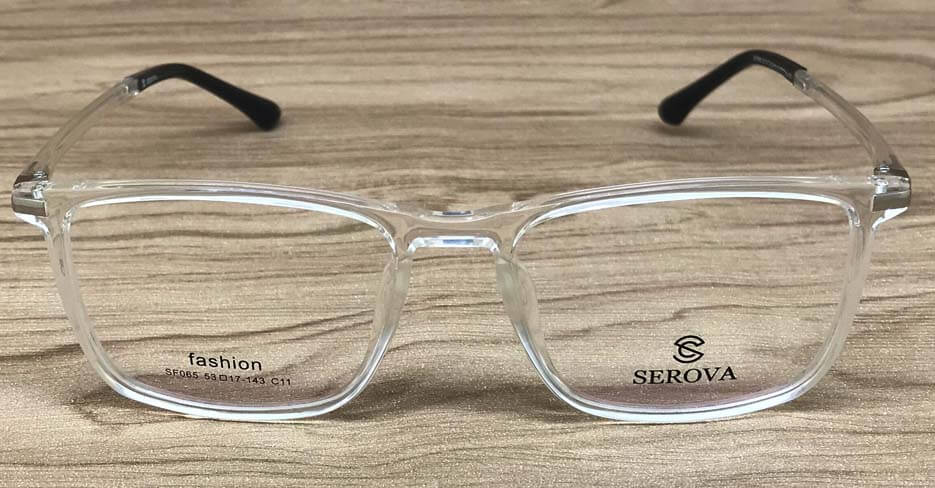 TR clear glasses frame SFY-065-C11