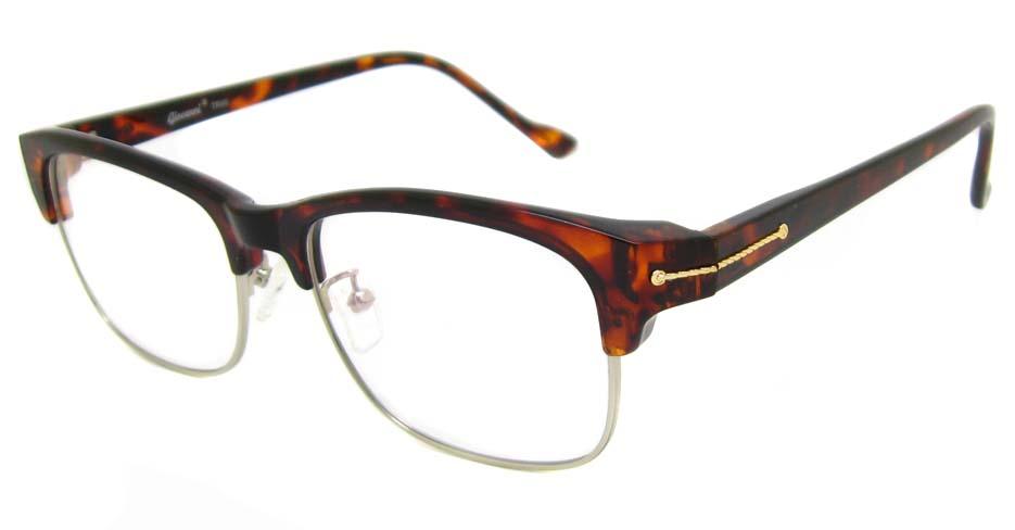 TR90 Tortoise oval glasses  frame SM-QDN90038-C3