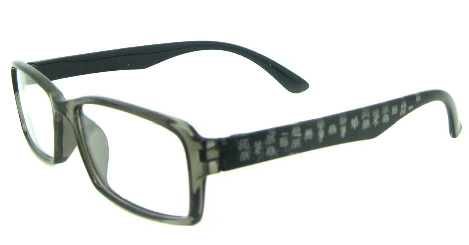 TR90 grey Rectangular glasses frame YL-KLD8014-C6