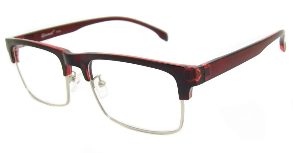 TR90 tea  oval  glasses frame SM-QDN90035-C3