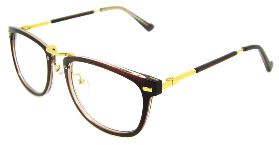 Tea blend oval retro frame YM-G7018-c3
