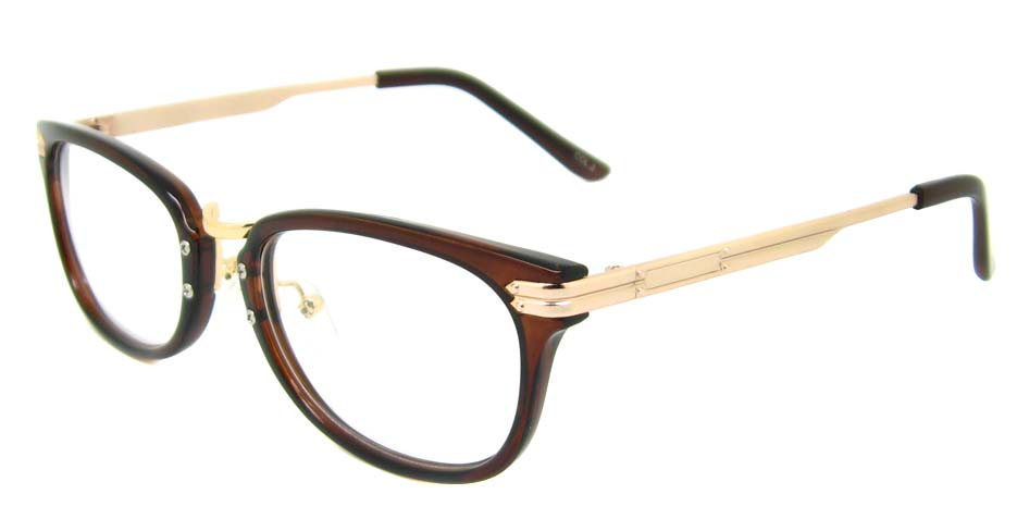 Tea oval blend retro frame YM-J106-C3