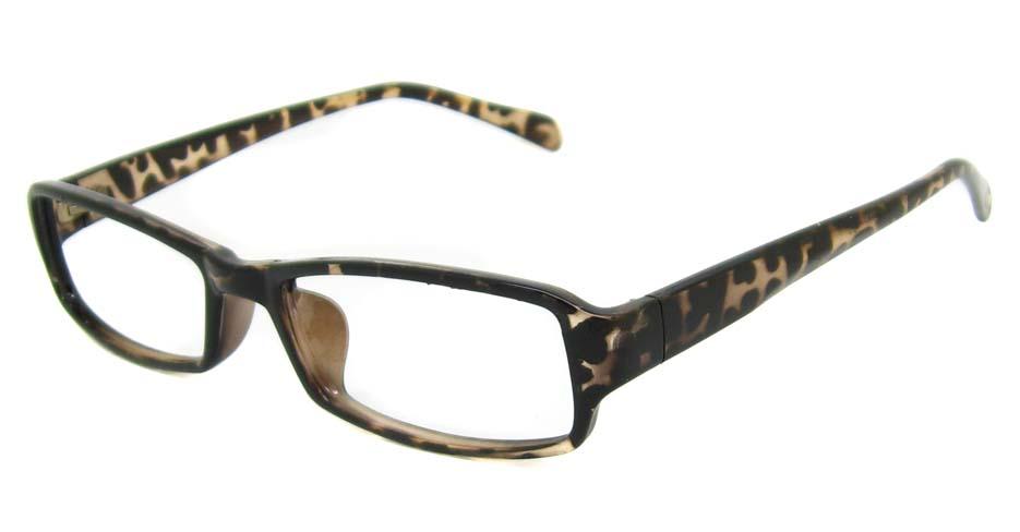 Tortoise Plastic rectangular frame YJ-CY8128-GWS