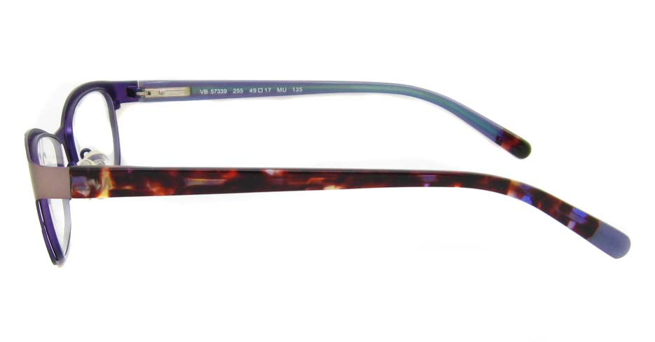 Tortoise blend oval  glasses frame HD-VB57339-C245