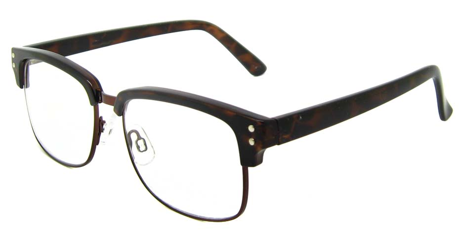 Black blend oval retro frame  YM-AX6761-C01